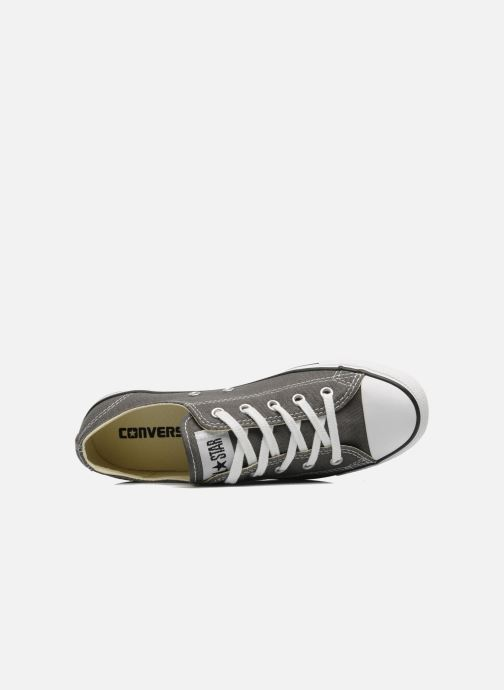 Deportivas Converse All Star Dainty Canvas Ox W Gris vista lateral izquierda